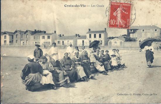 Croix-de-Vie, les quais.