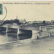 St-Gilles et croix-de-Vie, le pont sur La Vie.