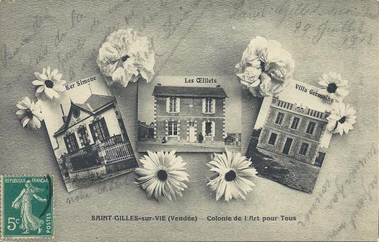 St-Gilles-sur-Vie, colonie de l'Art pour tous.