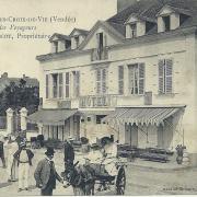 St-Gilles-Croix-de-Vie, hôtel des Voyageurs, Mme Malescot.