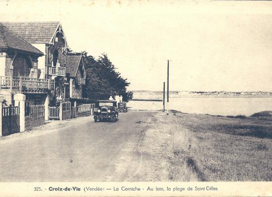 Croix-de-Vie, la corniche.