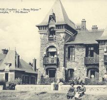 Croix-de-Vie, villas Josépha, Pil-Hours et Beau-Séjour.