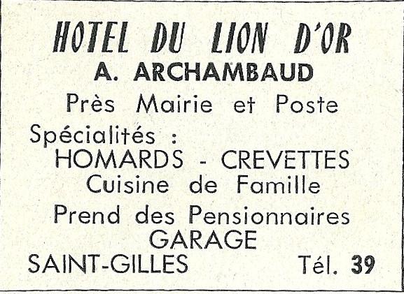 Archambaud Hôtel du Lion d'Or (2)