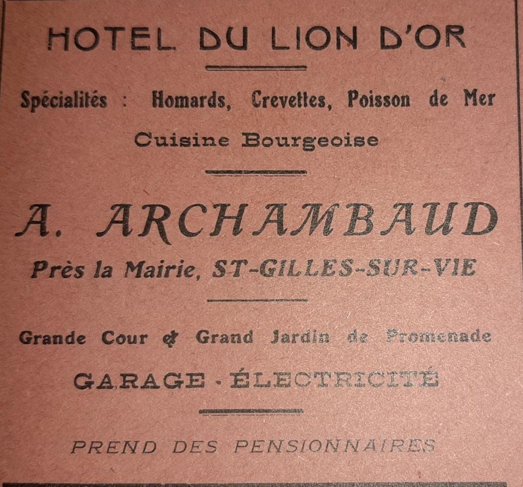 Archambaud Hôtel du Lion d'Or (3)