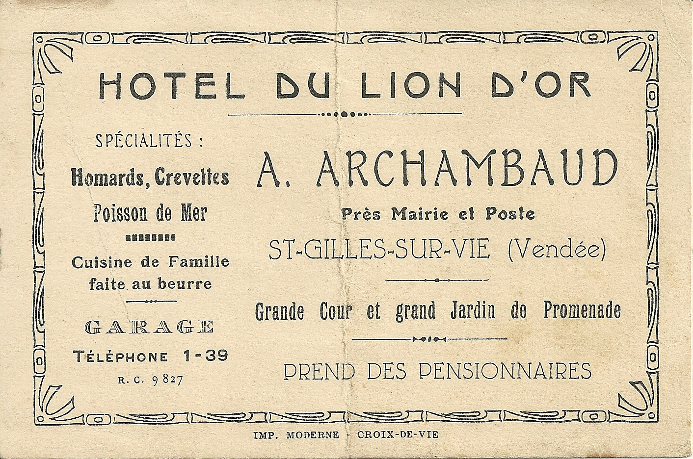 Archambaud Hôtel du Lion d'Or (4)