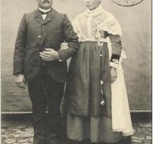 Bouin, les mariés