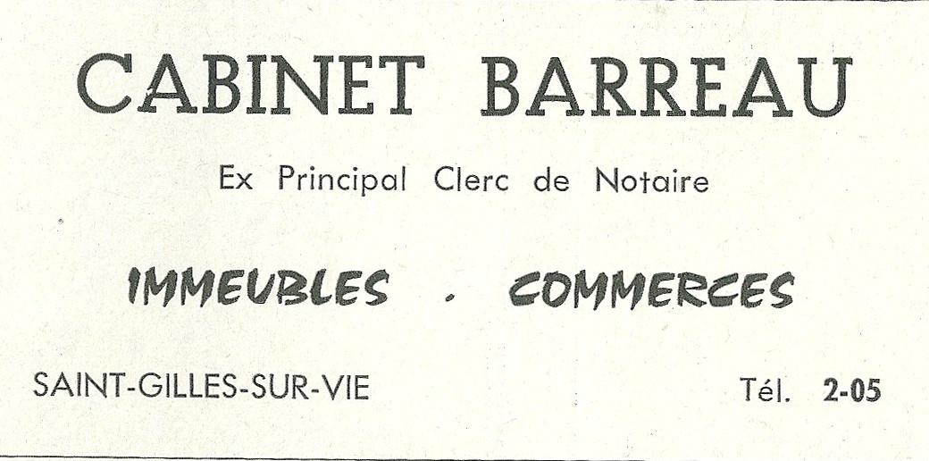 Cabinet Barreau