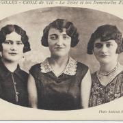 Saint-Gilles-Croix-de-Vie, la reine et ses demoiselles