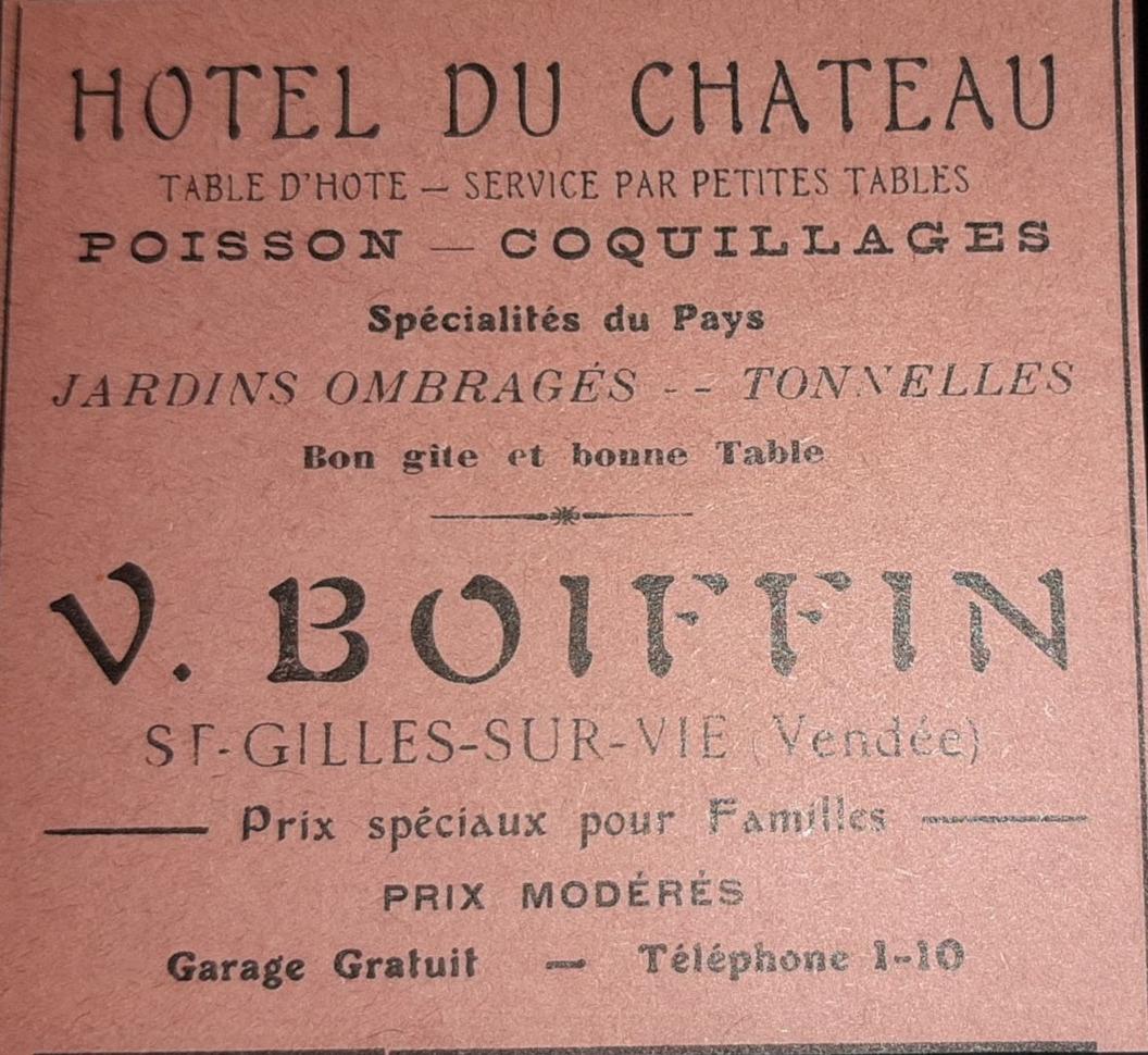 Hôtel du Château Boiffin