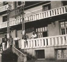 Hôtel Frédéric pendant la guerre