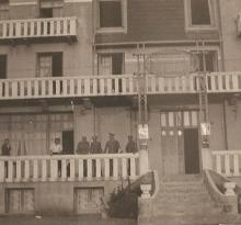 Hôtel Frédéric pendant la guerre.
