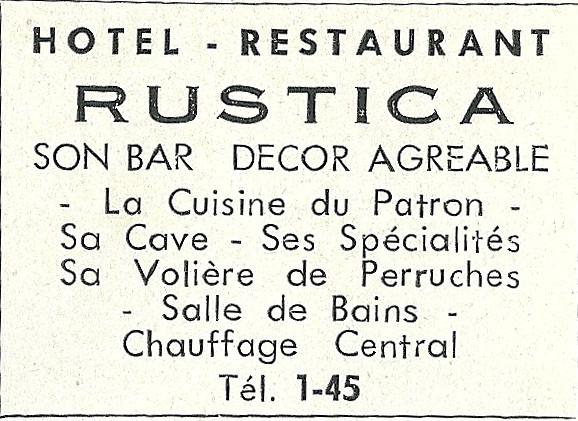 Hôtel Rustica