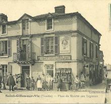 Jean, leon, berthe et valentine magasin St-Gilles.