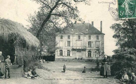 La Chapelle Hermier, le château
