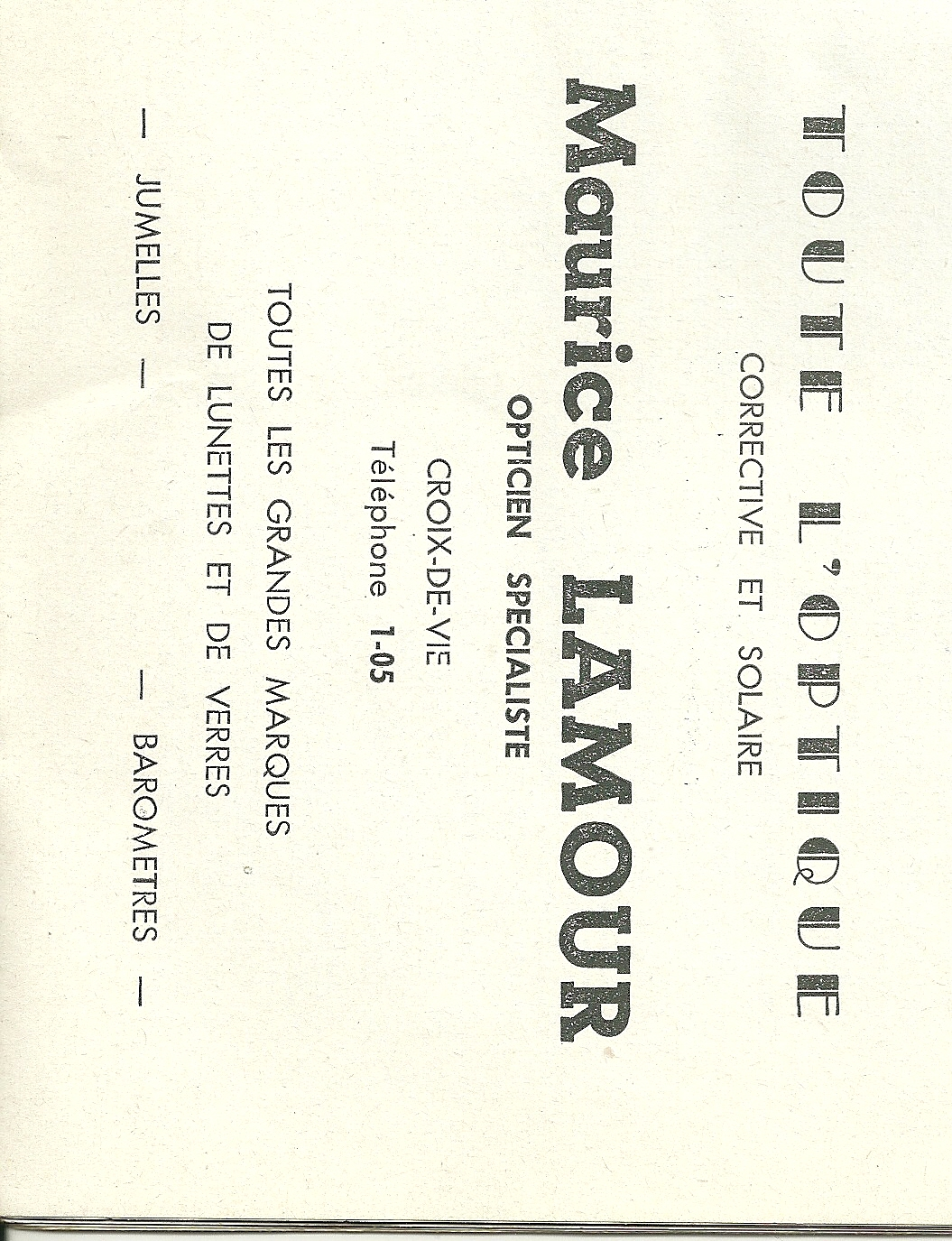 Lamour Maurice