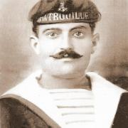 St-Gilles-sur-Vie, Marcel Pénard, militaire dans la Marine.