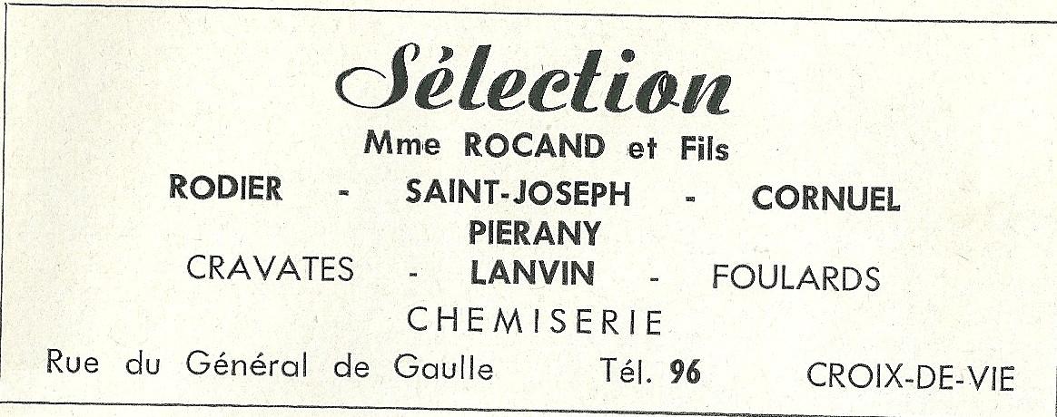 Mme Rocand Sélection