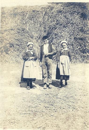 St-Gilles-sur-Vie, enfants vendéens.