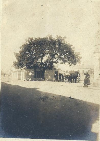 Croix-de-Vie, la place du marché.