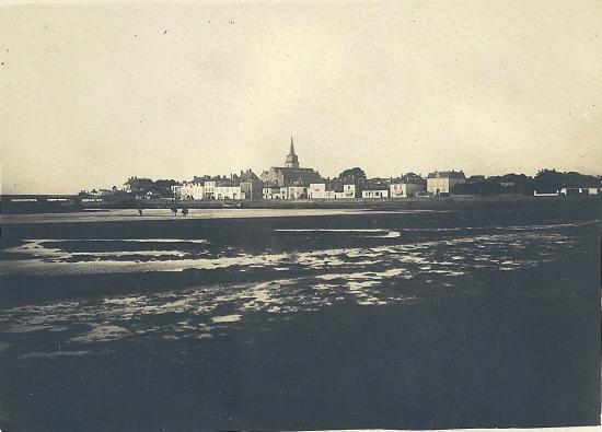 Vue sur St- Gilles-sur-Vie.