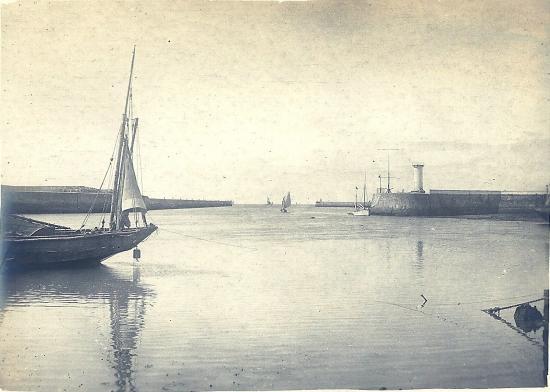 Entrée du port de Croix-De-Vie.