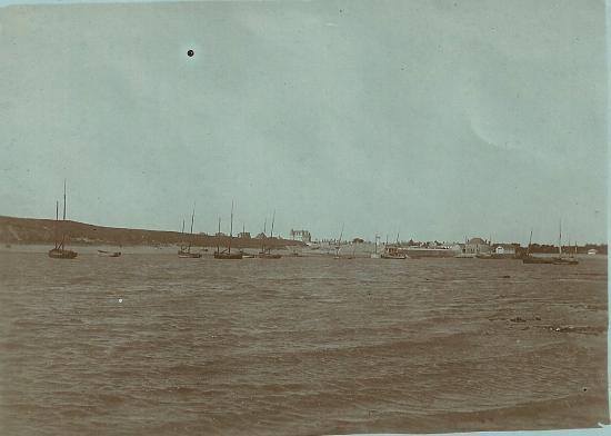 Croix-de-Vie, vue sur la dune de la Garenne.