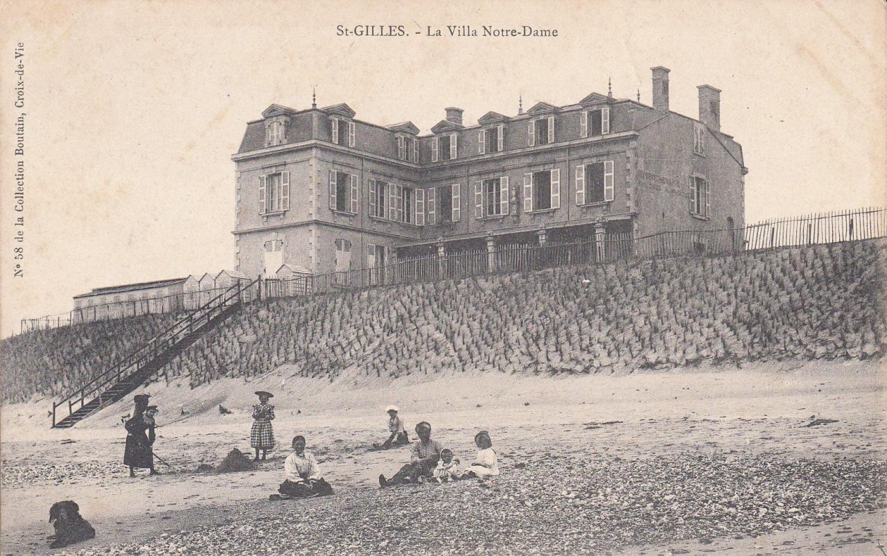 St-Gilles-sur-Vie, villa Notre-Dame.
