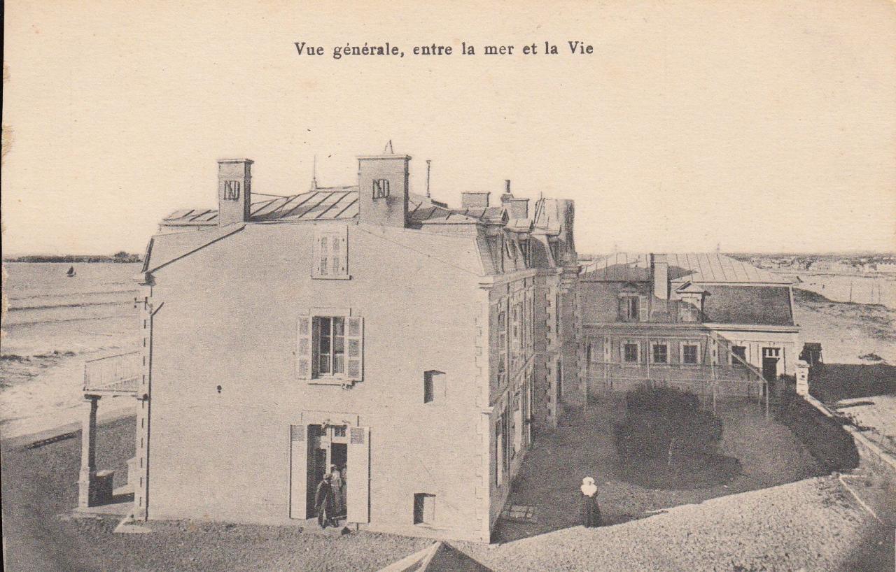 St-Gilles-sur-Vie, la villa Notre-Dame entre la mer et la Vie.