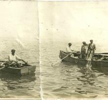 St-Gilles-sur-Vie, mon arrière grand-père, pêche à la sardine.