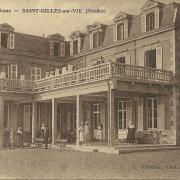 St-Gilles-sur-Vie, la villa Notre-Dame.