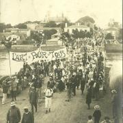 St-Gilles-sur-Vie, la mi-carême 1926.