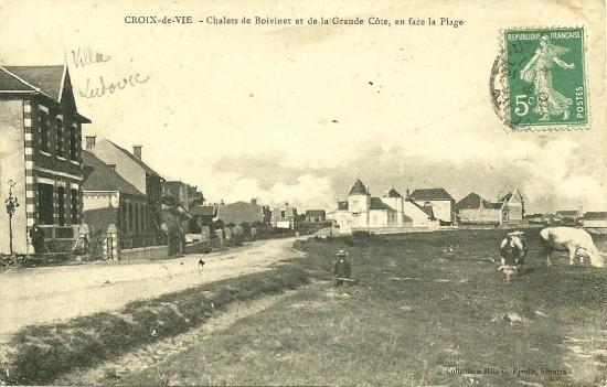 Croix-de-Vie, chalets de Boisvinet et de la grande côte.