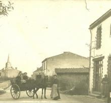 St-Gilles-sur-Vie, la rue du Calvaire.