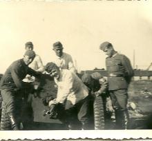 Saint-Gilles-Croix-de-Vie, allemands en poste.