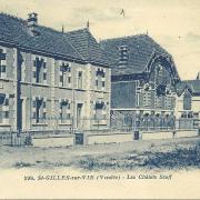 St-Gilles-sur-Vie, les chalets Scoff.