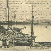 Saint-Gilles-sur-Vie, les chalets sur la rivière.