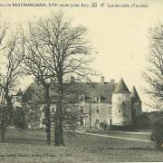 Landevieille, château de Beaumarchais.