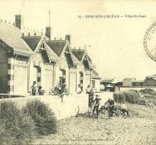 Sion-sur-L'Océan, villa St-Jean.