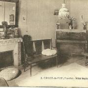Croix-de-Vie, hôtel Neptune, le salon.