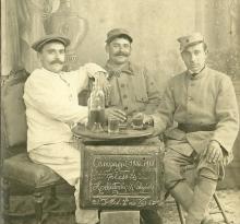 St-Gilles-sur-Vie, blessés du 26ème RI, en convalescence.