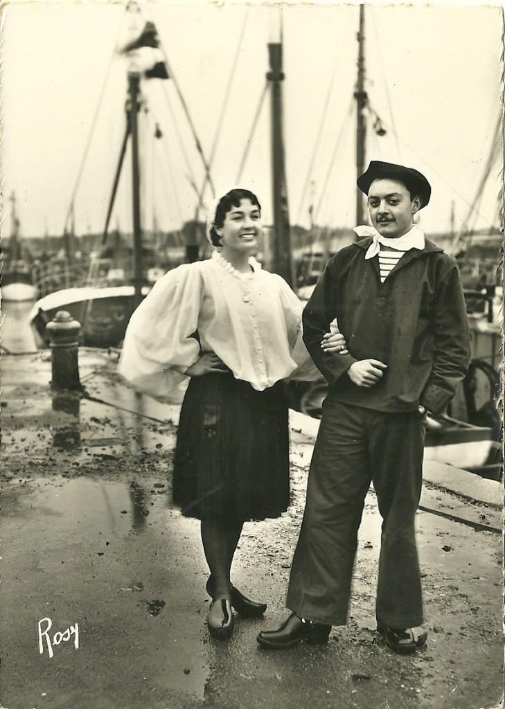 Croix-de-Vie, Bise-dur jeune couple.