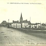 Saint-Gilles-sur-Vie, le pont et les quais.