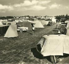 St-Gilles-Croix-de-Vie, le camping de la plage.