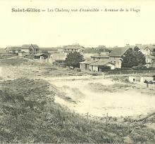 Saint-Gilles-sur-Vie, les chalets, avenue de la plage.