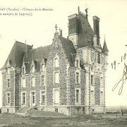 Chantonnay, château de La Mouhée au marquis de Lespinay.