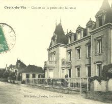 Croix-de-Vie, chalets de la petite côte, villa Miramar.