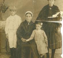 St-Gilles-sur-Vie, grand-père, arrière et arrière arrière grd-mère.