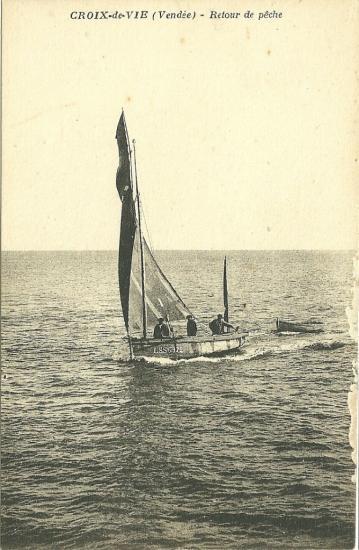 Croix-de-Vie, retour de pêche.