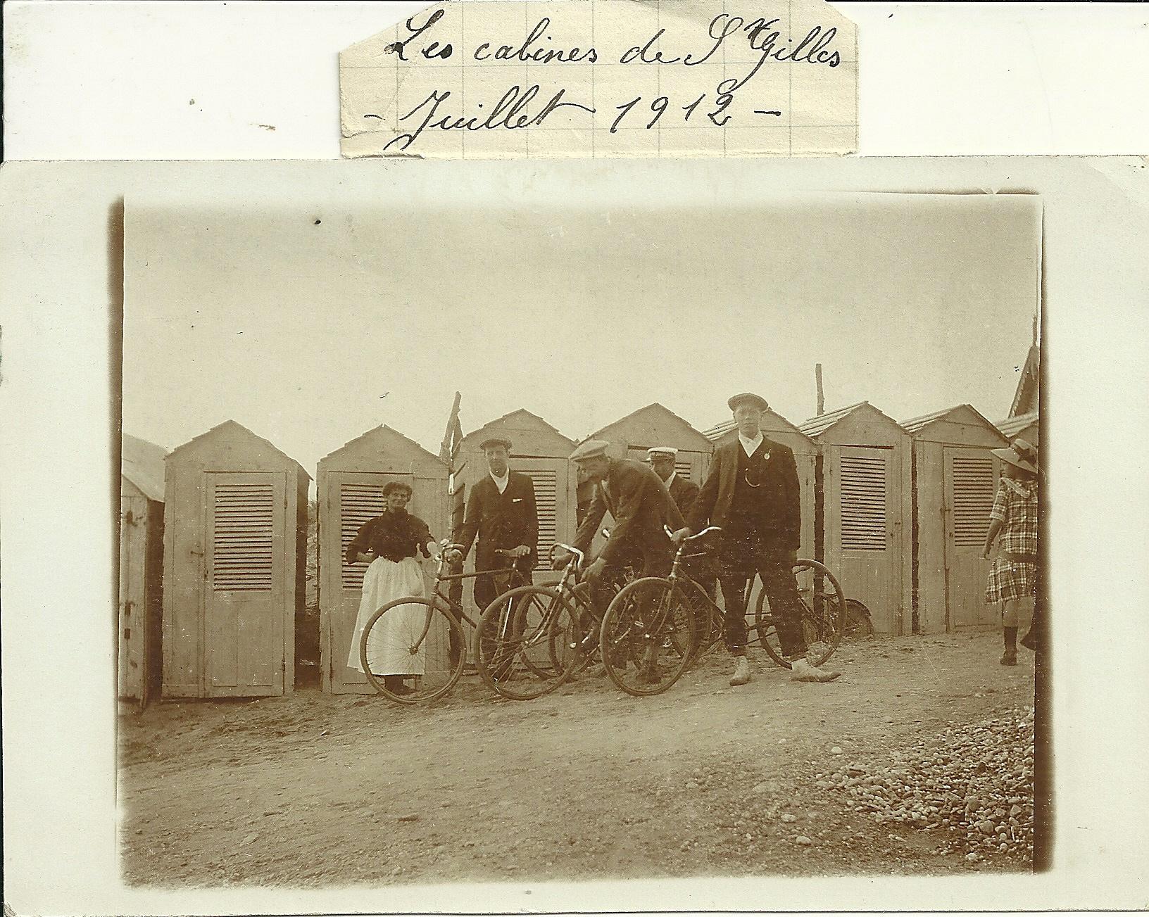 Saint-Gilles-sur-Vie, les cabines.