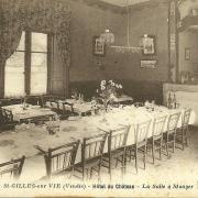 St-Gilles-sur-Vie, l'Hôtel du Château, la salle à manger.